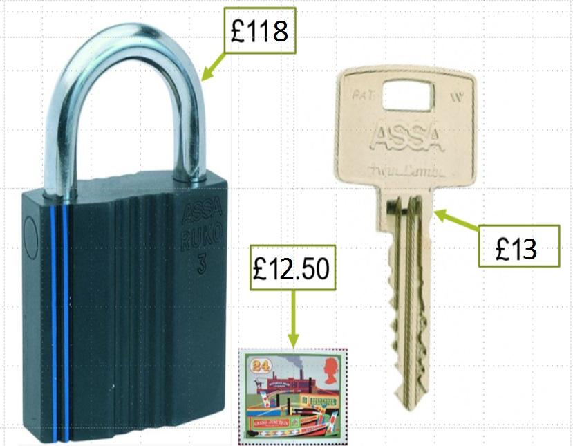 key deposit