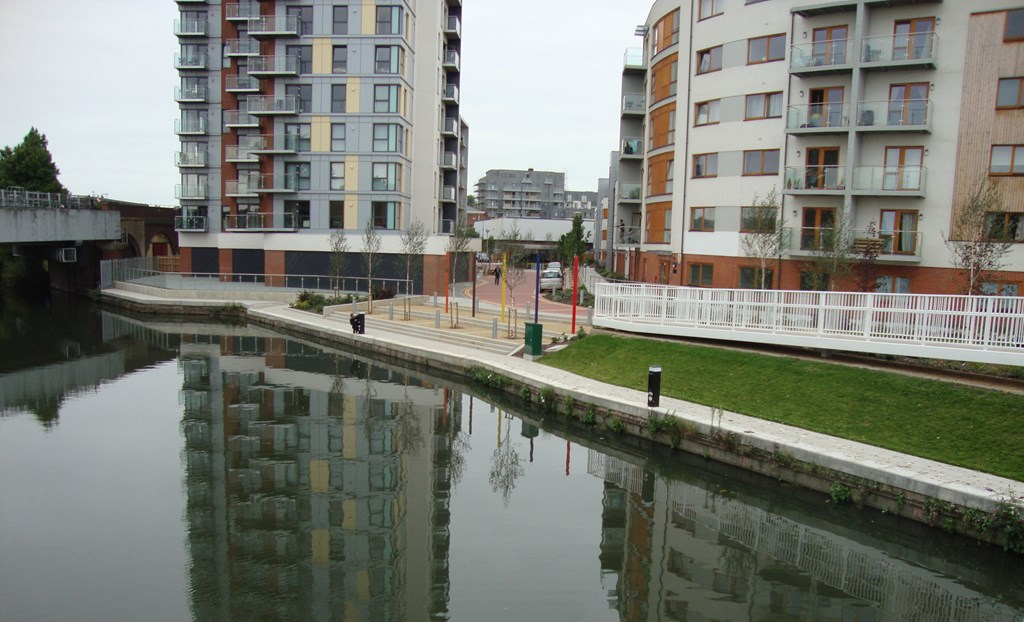 Opening this year! A new residential widebeam mooring site close to Wembley!