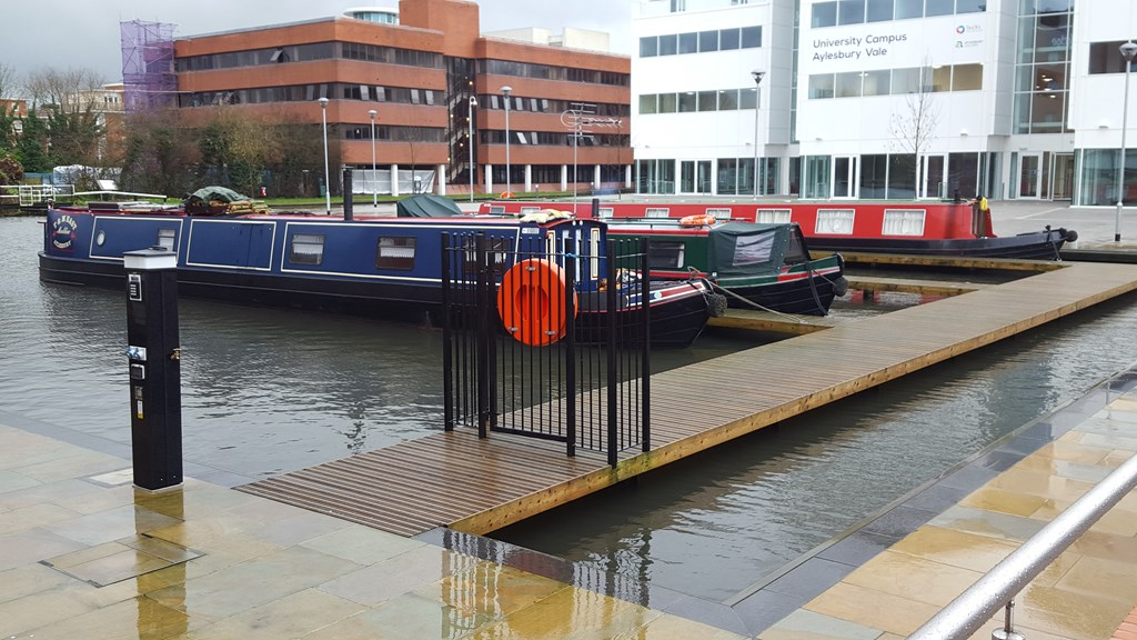 Auction Started Residential Berths Aylesbury Basin