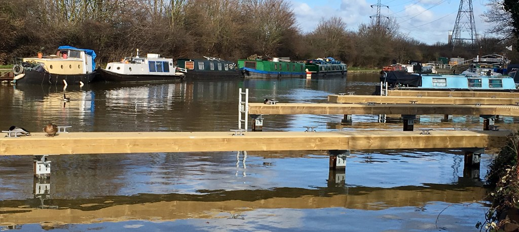 Stonebridge South Leisure Pontoons